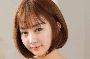 model rambut wanita korea