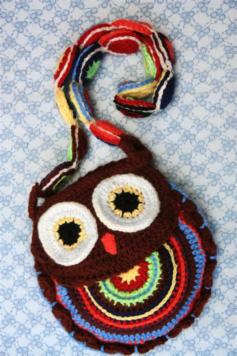crochet animal bag pattern crochet owl purse 183 how to make an animal bag 183 yarn craft