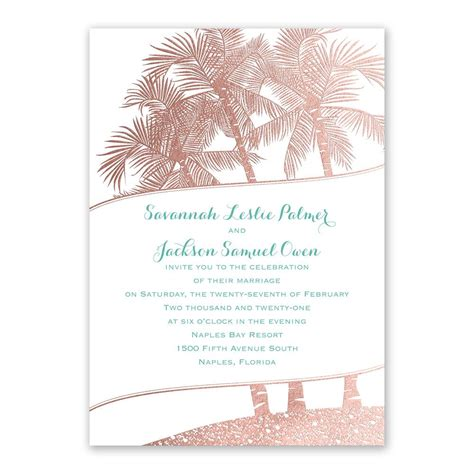 Theme Wedding Invitations by Malibu I Do Foil Invitation Invitations By