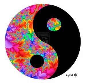 colorful yin yang rainbow yinyang by antarctica246 on deviantart