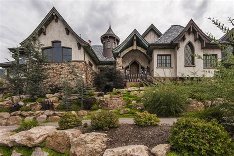custom mansions custom mountainside mansion 2 495 000 pricey pads