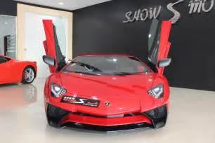 Lamborghini Aventador Sales Lamborghini Aventador Sv For Sale In Dubai Gtspirit