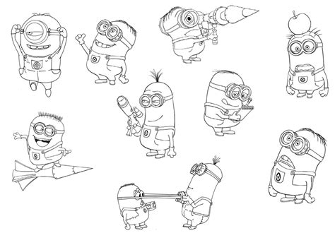 despicable me 2 coloring pages despicable me 2 minions coloring pages printable for