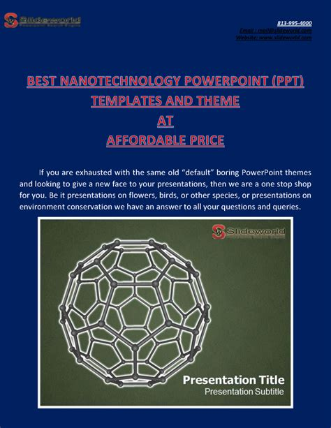 ppt themes for nanotechnology powerpoint templates nanotechnology image collections