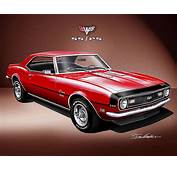 1968 Camaro Z28 Painting By Danny Whitfield