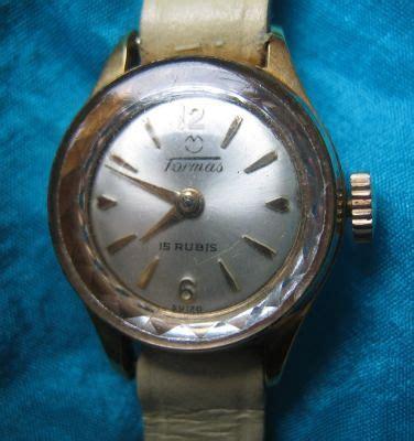 reloj pulsera mujer suizo tormas  rubis