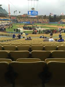 section 4fd dodger stadium dodger stadium section 6fd row w seat 6 los angeles