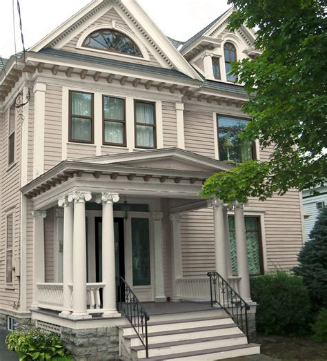 classic revival exterior paint colors traditional exterior new york by house llc