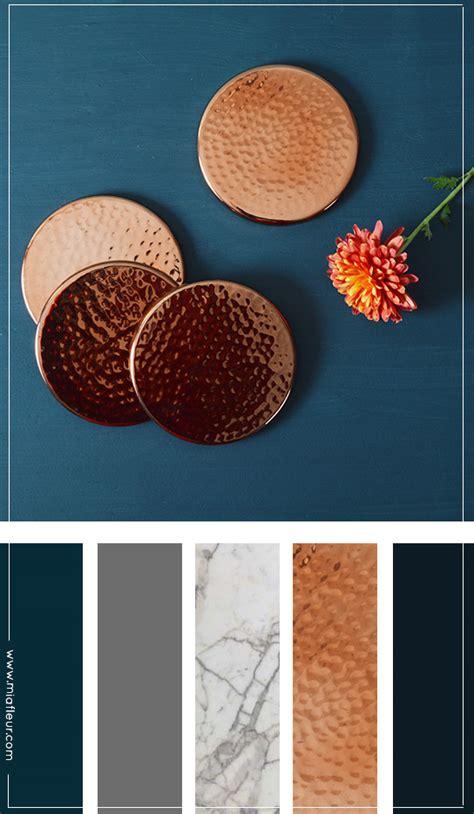 copper color combinations copper interiors making it work miafleur blog