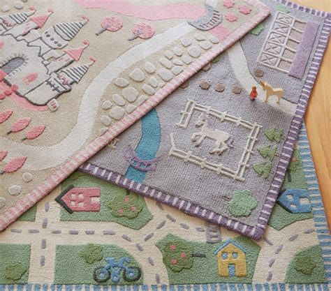 Pottery Barn Kid Rugs Castle Rug Pottery Barn