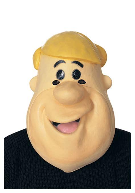 rubber barney rubble mask