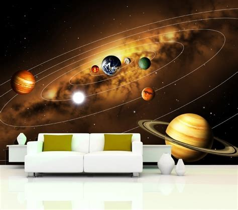 Modern Wall Murals solar system wallpaper for bedroom page 3 pics about space