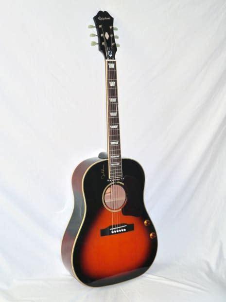 Epiphone EJ-160E John Lennon Acoustic Electric Guitar   Reverb J 160e Epiphone
