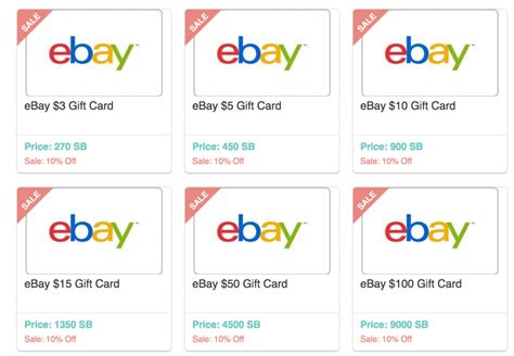 printable ebay gift certificates redeem swagbucks for ebay gift cards at a 10 discount