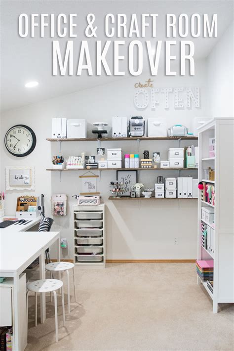 craft room makeover ideas office and craft room makeover heidi swapp