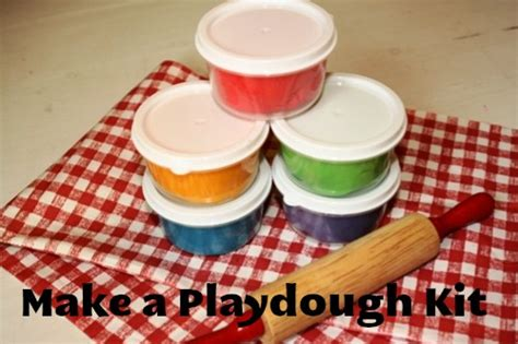 playdough kit homemade christmas gifts the happy