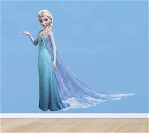 frozen removable wallpaper elsa the frozen princess disney decal removable wall