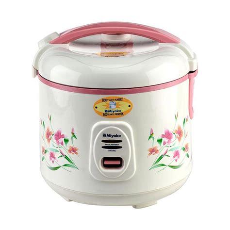 Rice Cooker Miyako 3 In 1 jual miyako mcm 507 rice cooker 1 8 l harga