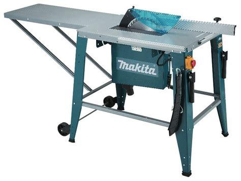 avis scie table makita 2712 test scie bois circulaire outils et bricolage