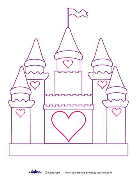 printable disney castle coloring pages cinderella castle coloring pages print kids coloring