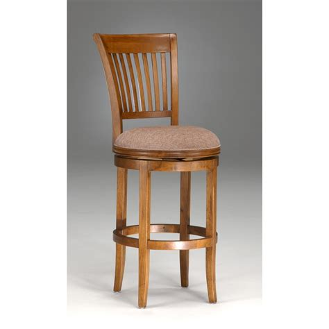 oak bar stools swivel hillsdale oak view swivel bar stool 118160 kitchen dining at sportsman s guide