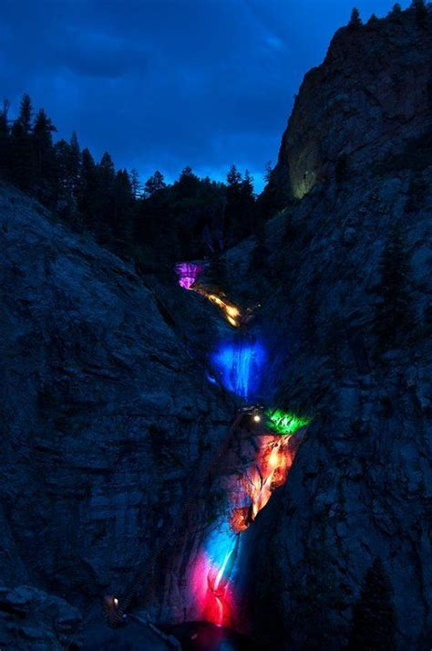 winter lights at broadmoor seven falls presented by