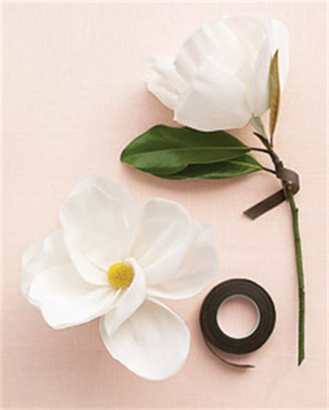 magnolia flower template big blooms on a small budget step by step diy craft
