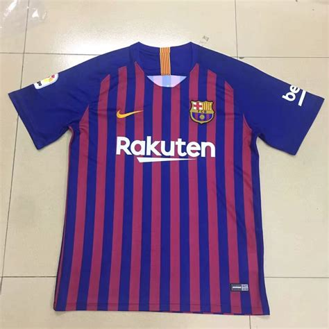 barcelona jersey 2018 barcelona jersey 2018 19 home soccer shirt soccer777