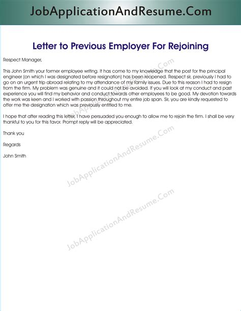 Sle Letter Asking For Back After Being Fired