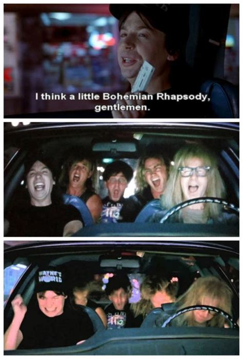mike myers quote in bohemian rhapsody mike myers in waynes world salvabrani