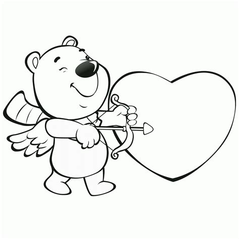 valentines day coloring pictures valentines day pictures to color