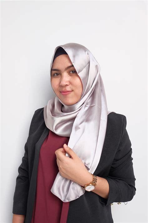 Jilbab Pashmina Silk pashmina satin polos murah bundaku net