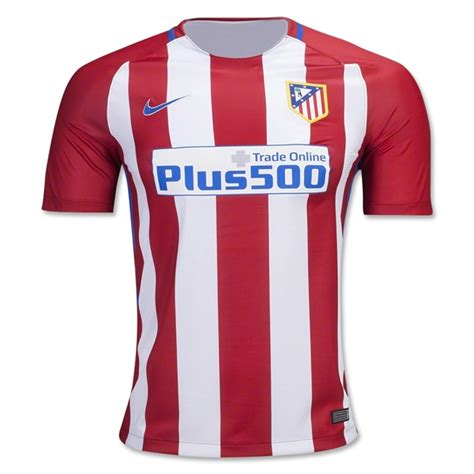 Jersey Retro Madrid atletico madrid home football shirt 16 17 soccerlord