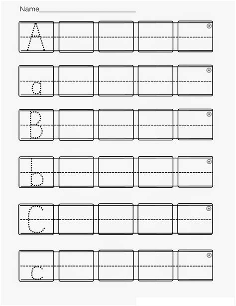 printable worksheets for kindergarten alphabet kindergarten abc worksheets printable loving printable