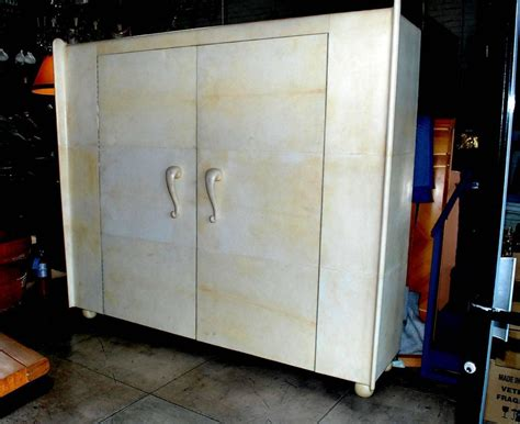 art deco armoire for sale french art deco style parchment armoire for sale at 1stdibs
