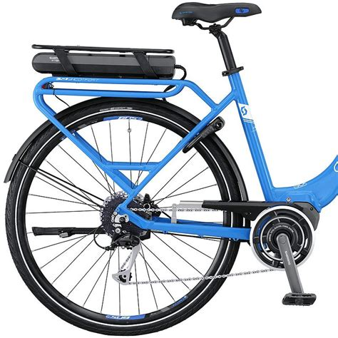 E Sub Comfort by E Sub Comfort Unisex E Bike 2016 Blue White Bike24
