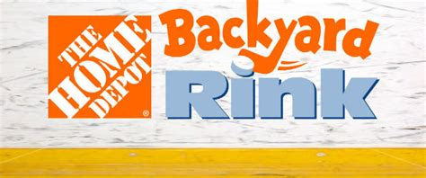 home depot backyard rink contest brandon wheat