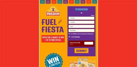 Mission Foods Sweepstakes - mission foods fuel your fiesta sweepstakes celebrate cinco de mayo