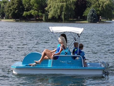 boat paddle pictures swan fiberglass pedal boat