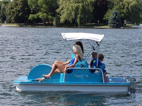 swan pedal boat swan fiberglass pedal boat