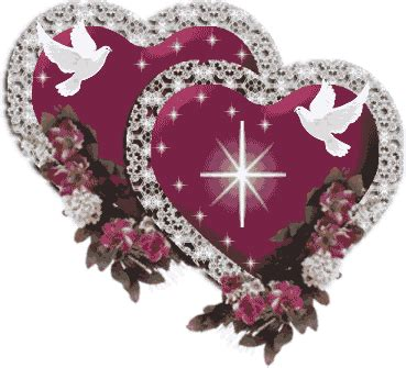 purple hearts and roses flowersrosesheartspurpledoves