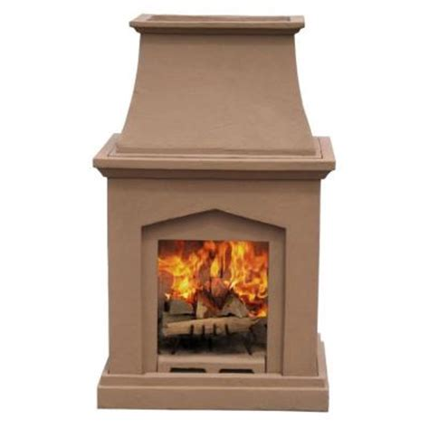 Outdoor Fireplaces Home Depot by Pacific Living 46 In Desert Pedestal Outdoor