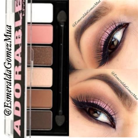 Nyx Adorable Eyeshadow 158 best images about makeup inspiration on
