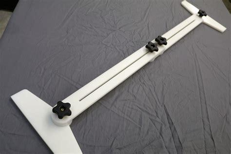 stair tread template tool stair tread jig 171 diy