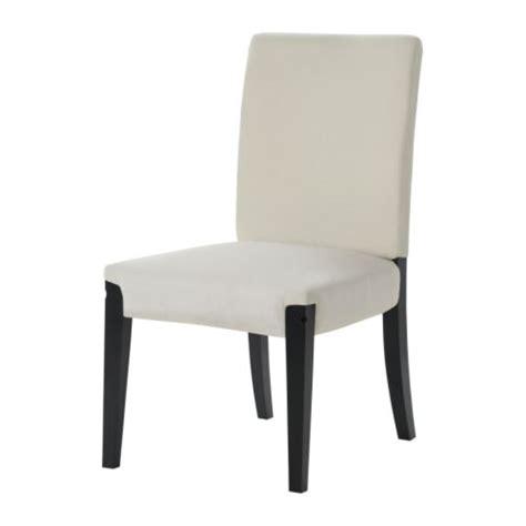 chaise henriksdal henriksdal structure chaise brun noir ikea