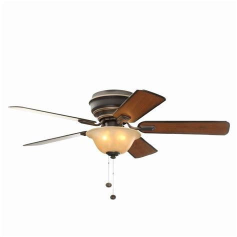 hamilton bay ceiling fan hton bay hawkins 44 in tarnished bronze ceiling fan