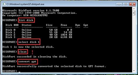 diskpart format gpt to mbr how to convert mbr to gpt without data loss in windows 7