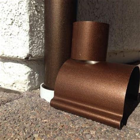 Faux Copper Gutters San Diego Gutters 15 Reviews Gutter Services