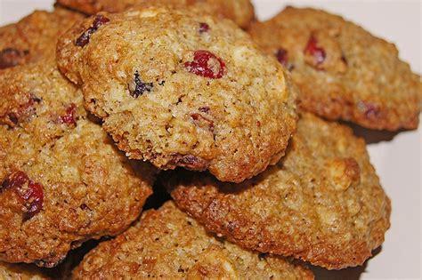Cranberry Vollkorn Cookies Von Bplus Chefkoch