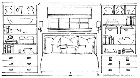 Bedroom Window Drawing Project Peek Master Bedroom Drawings